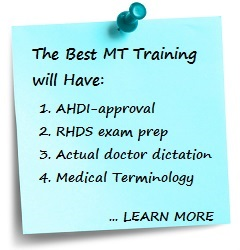 Medical Transcription best subjects to learn in college
